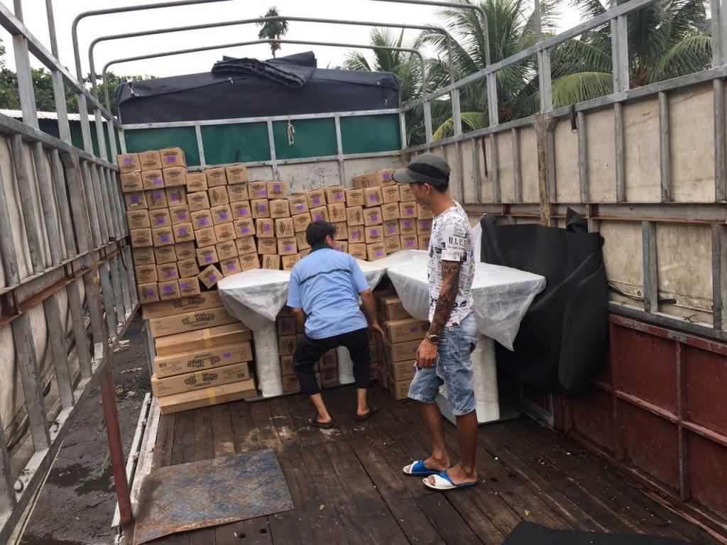 Chành xe chuyển hàng Đà Nẵng